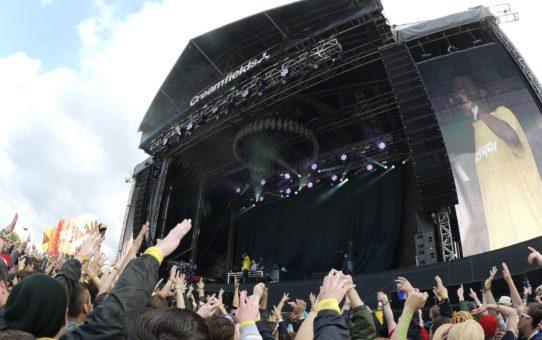 Фестиваль электронной музыки Creamfields в Англии
