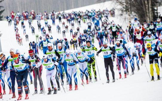 Тартуский лыжный марафон в Эстонии
