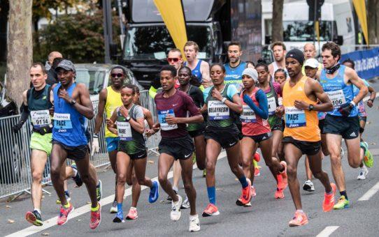 Беговой марафон во Франкфурте-на-Майне