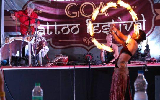 Фестиваль татуировок на Гоа
