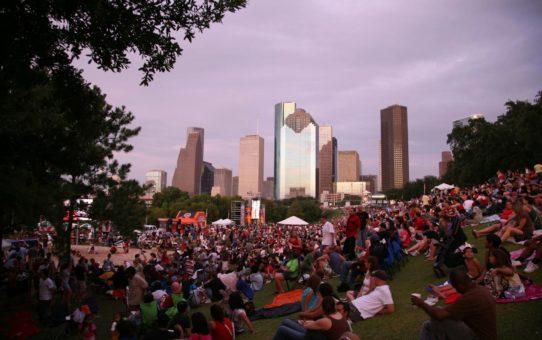 4 июля в Хьюстоне, штат Техас