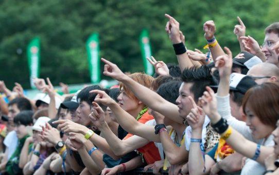 Рок-фестиваль Fuji в Японии
