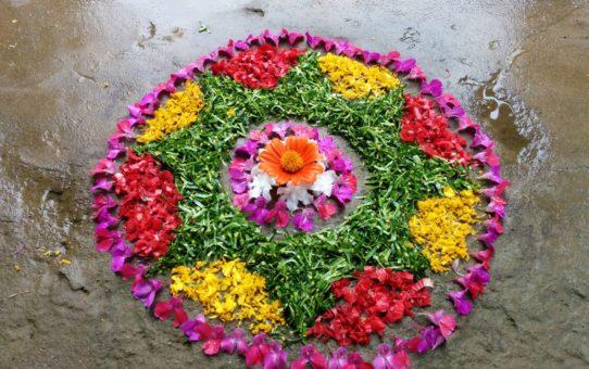 Фестиваль Onam в Керале