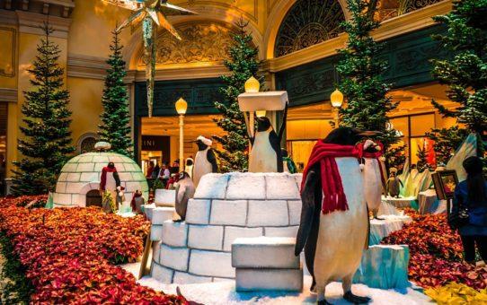 Рождественский сезон в Лас-Вегас