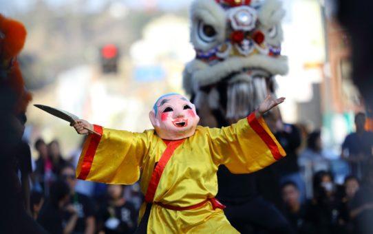 Китайский Новый год в Лос-Анджелесе