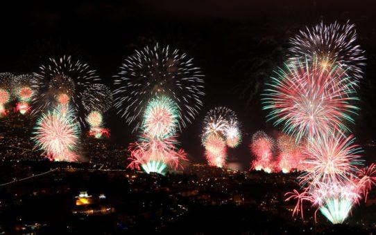 Новогодний фейерверк в Мадейре