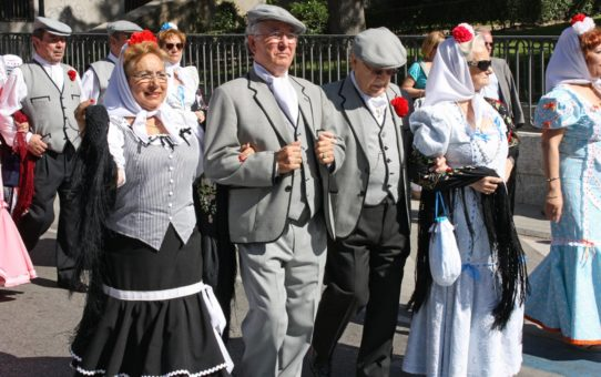 Сан - Исидро фестиваль в Мадриде