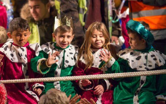 Парад трех королей в Мадриде