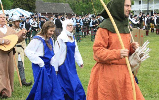 Кельтский фестиваль в Южном Мэриленде