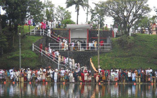 Праздник Maha Shivaratree на Маврикии