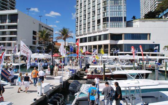 Международная выставка лодок в Майами и строго под парусом