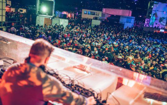 Музыкальный фестиваль Igloofest в Монреале