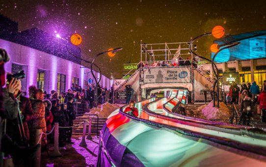 Зимний фестиваль Монреаль ан Люмьер