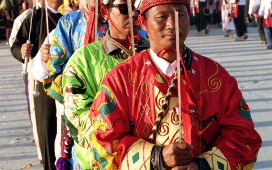 Фестиваль Manaw в Мьянме
