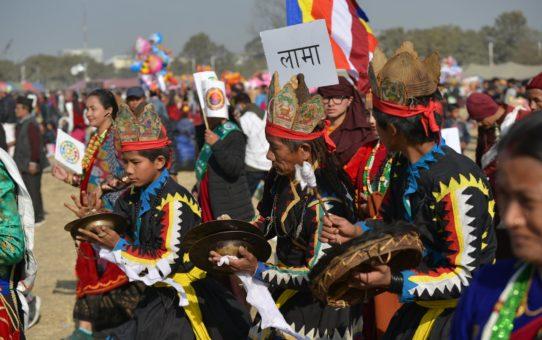 Праздник Lhosar в Непале