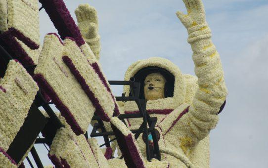 Цветочный парад Болленстрик в Нидерландах