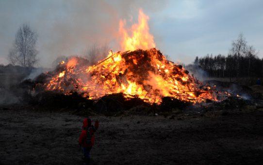 Пасхальные огни в Нидерландах