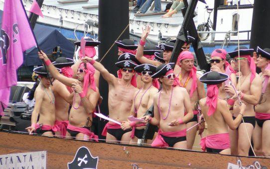 Карнавал гей-прайда в Нидерландах