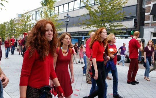 """Международный фестиваль """"Redhead Day""""(День рыжеволосых) в Нидерландах"""