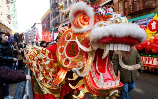 Китайский Новый год в Нью-Йорке