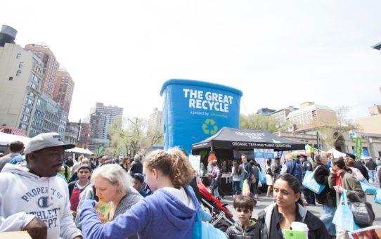 День Земли в Нью-Йорке