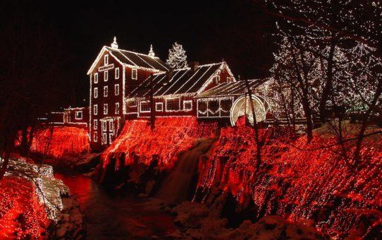 Рождественские огни в Огайо