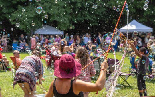 Хиппи фестиваль в Огайо