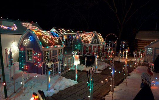 Самые праздничные рождественские огни в Пенсильвании