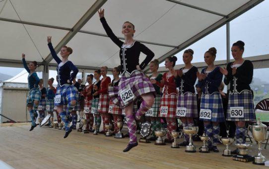 Игры Ковал Хайленд в Шотландии