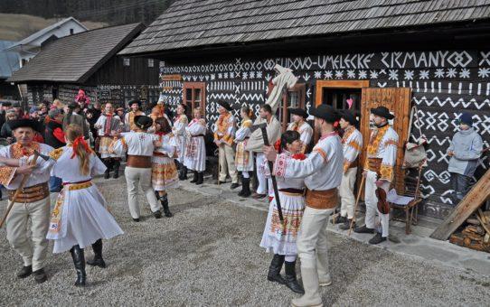 Карнавал Фашианги в деревне Чичманы, Словакия