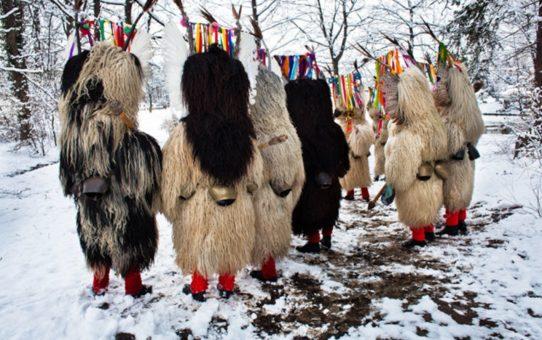 Карнавал Pust в Черкница, Словения