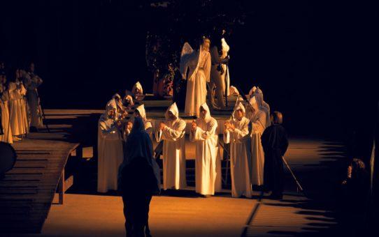 Покаянная процессия Страстей в Словении