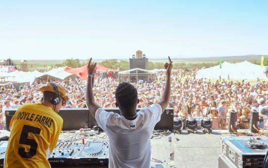 Музыкальный рок-фестиваль Ромашки в Южной Африке