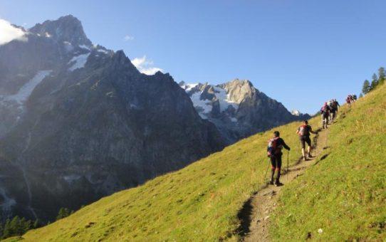 Забег Ультра-Трейл UTMB в Швейцарии