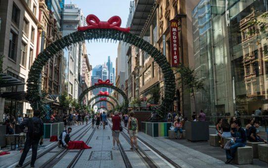 Рождественский сезон в Сиднее