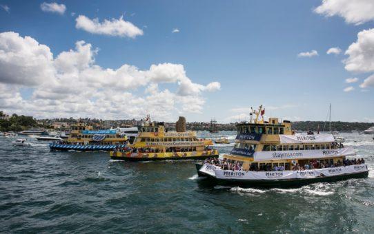 Соревнования Ferrython в день Австралии в Сиднее