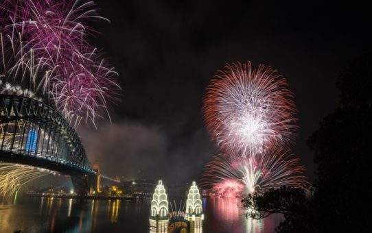 Сидней Новогодний фейерверк