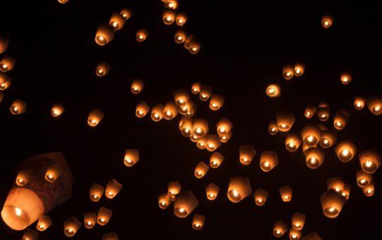 Фестиваль небесных фонарей Пинси на Тайване
