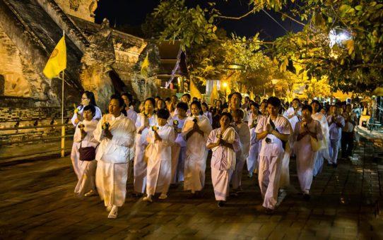 День Маха Буча в Таиланде