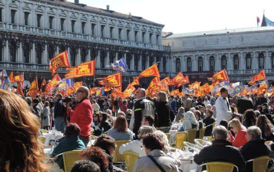 Феста ди Сан-Марко (фестиваль Святого Марка) в Венеции