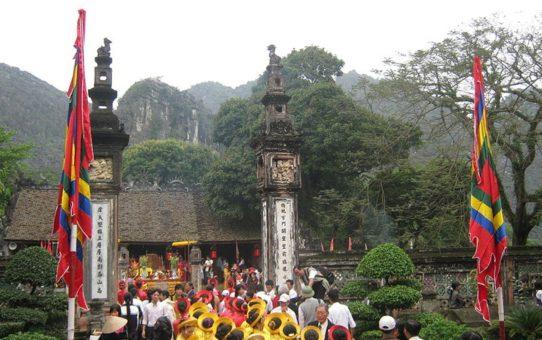 Фестиваль цитадели Ко Лоа во Вьетнаме