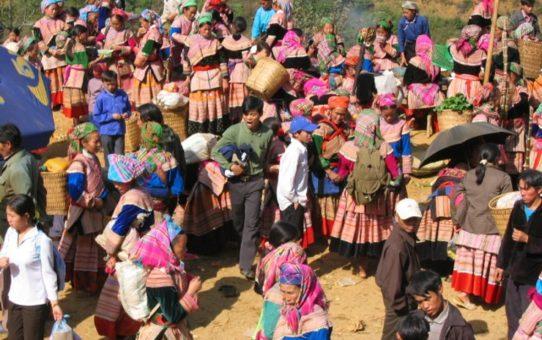 Рынок любви Кхау Бхай во Вьетнаме