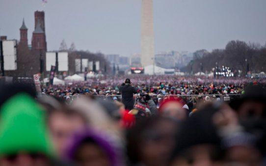 Президентская инаугурация в Вашингтоне, округ Колумбия