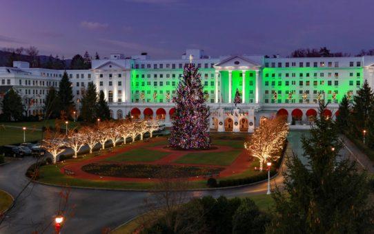 Рождественские огни в Западной Вирджинии