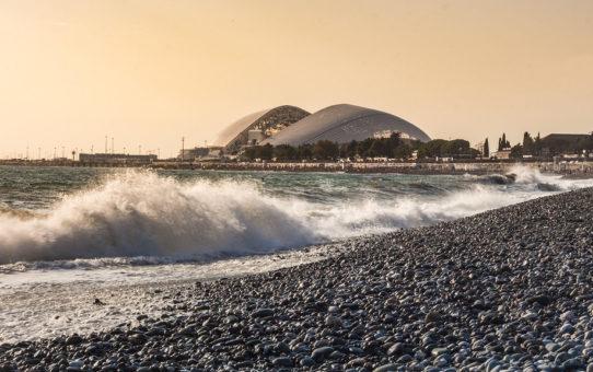 Имеретинский пляж в Адлере