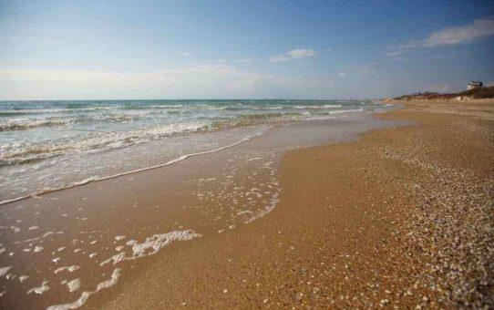 Золотистые пляжи в Джемете, Анапа
