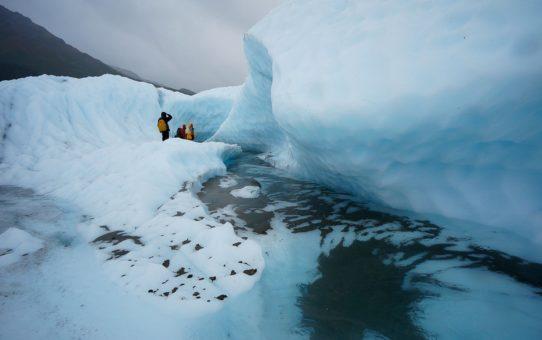 Ледник Тана в национальном парке Сент-Эллиас