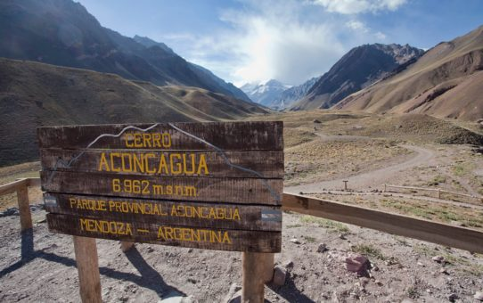 Восхождение на гору Аконкагуа, Аргентина