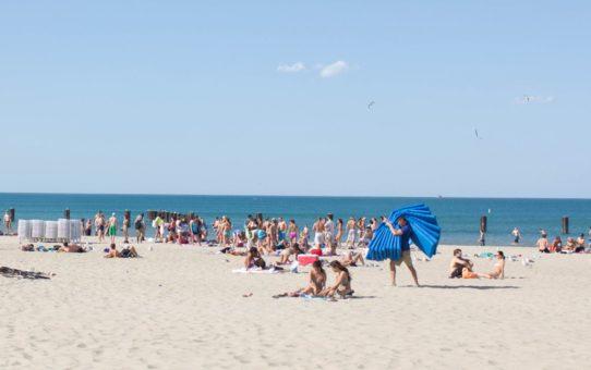Пляжный сезон в Чикаго, США