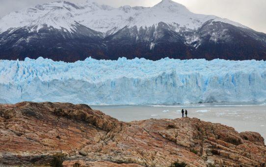 Поход по ледяному полю в Чили